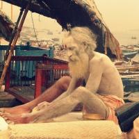 Benaras Along the Ghats - Part 1
